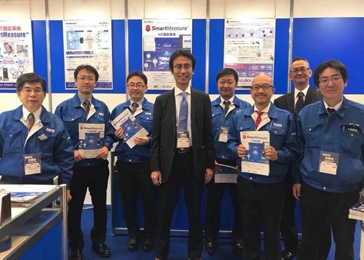 本日最終日、スマート工場EXPO@東京ビッグサイト西ホールにてお待ちしております!営業・技術・開発担当フルメンバーでお問い合わせにお応えしております^_^  品質管理IoTソリューション、SmartMeasureはもちろん、測定に関する課題のご相談、測定器のご注文も頂いてます。