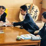 【岡谷市長へ経産省羽ばたく企業300社受賞報告をしました】「元気な企業があることが誇りです、地域を宣伝してくれてありがとう。